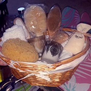 RELAX bath salt basket